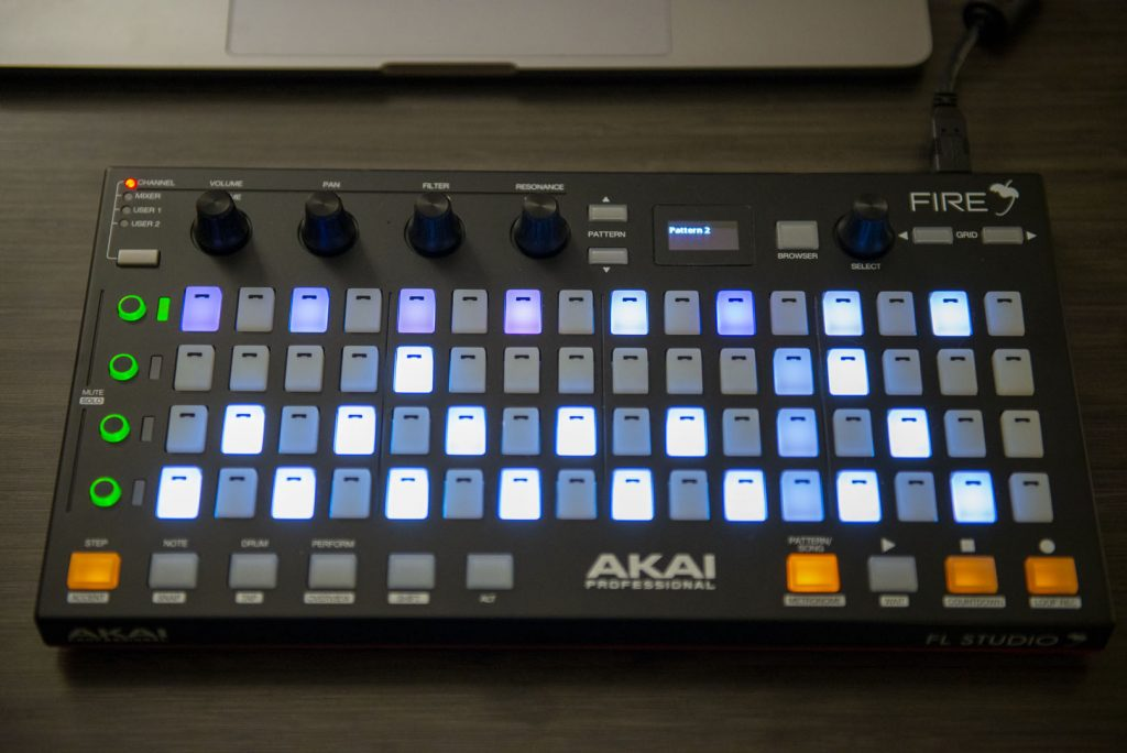 Akai Fire Midi Controller Review
