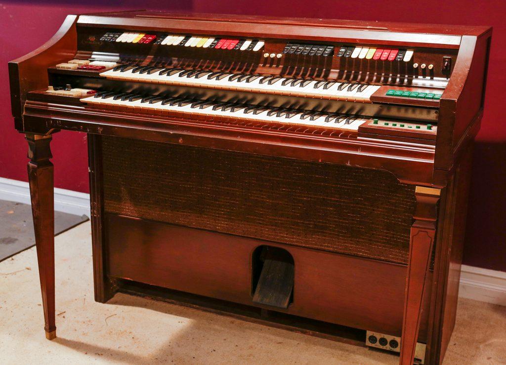 Wurlitzer vintage organ front