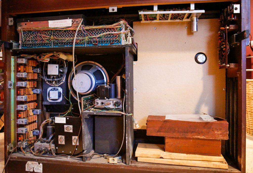 wurlitzer vintage organ cabinet wiring