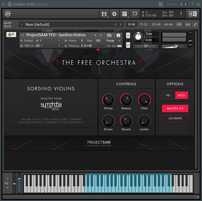 free violin virtual instrument plugin